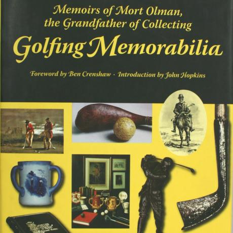 14881 GOLF BOOK, MEMOIRS OF MORT OLMAN, THE...