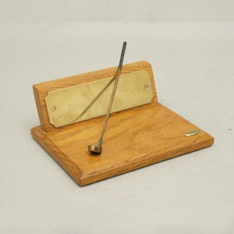 19926 Antique Golf Trophy.