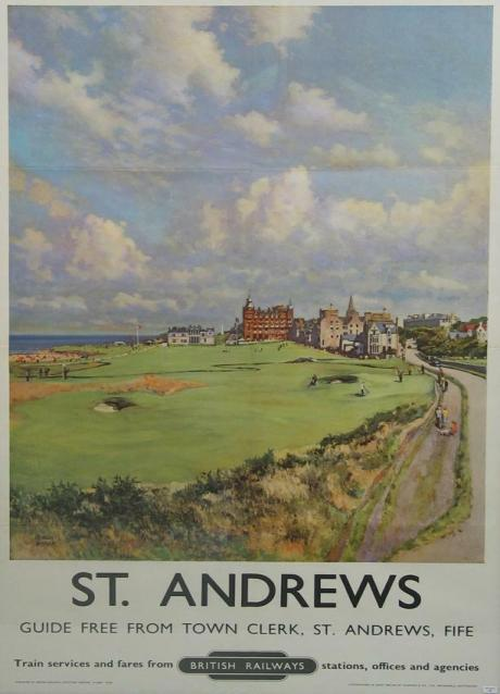 20725 A fine and rare Golf Poster,  by...
