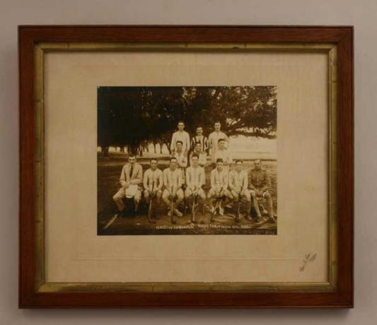 22384 Team Photograph, India hockey team.