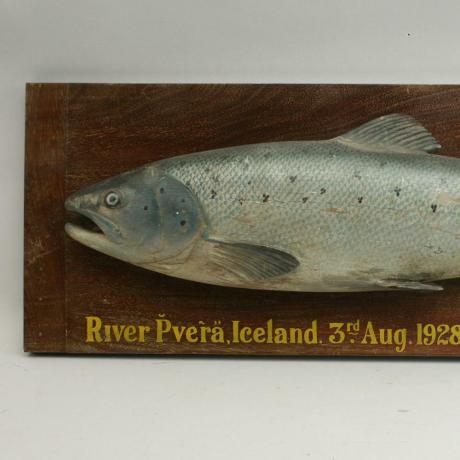 22777 CARVED SEA TROUT FISH TROPHY...