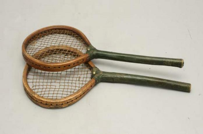 23315 A fine and rare pair of early strung...