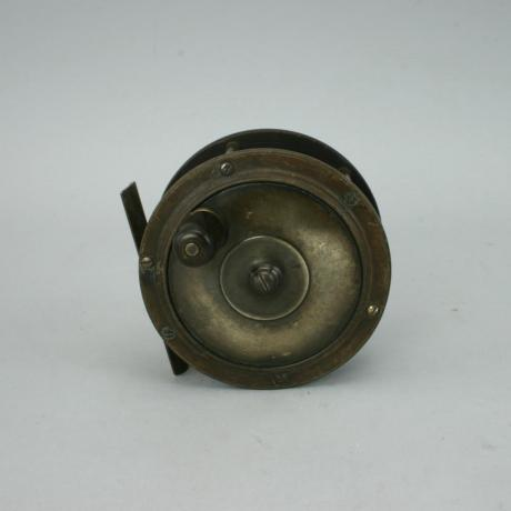 24010 VINTAGE SALMON FLY FISHING REEL.