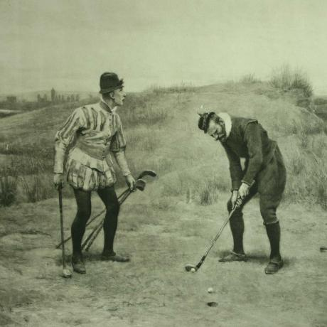 24849 Golf Print, Sabbath Breakers,...