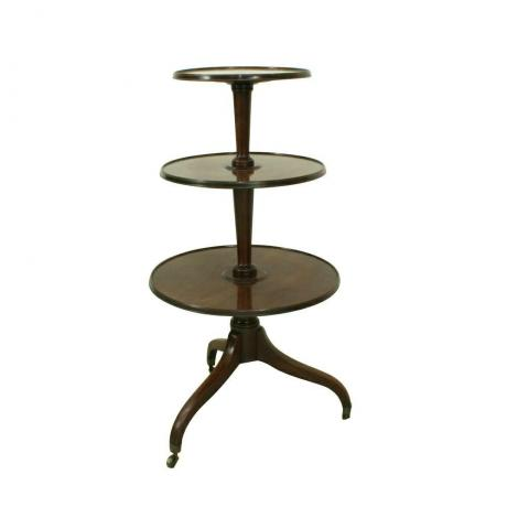 24937 Antique Three Tier Dumb...