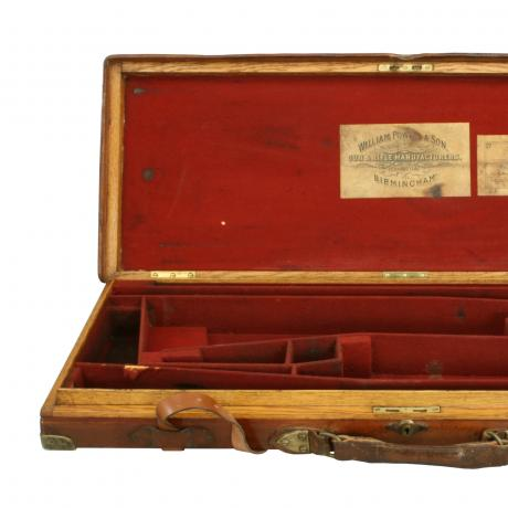 25319 Vintage Double Gun Case, William Powell...