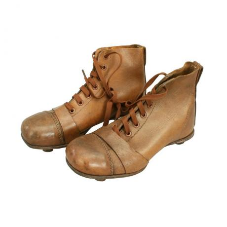 25379 Vintage Pair of Child\'s Leather...