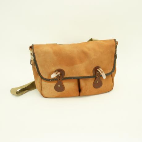 25523 Vintage Canvas Fishing Bag.