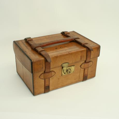 25557 Vintage Farlow Tackle case.An...
