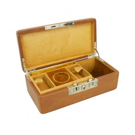25820 Leather Jewellery Box.