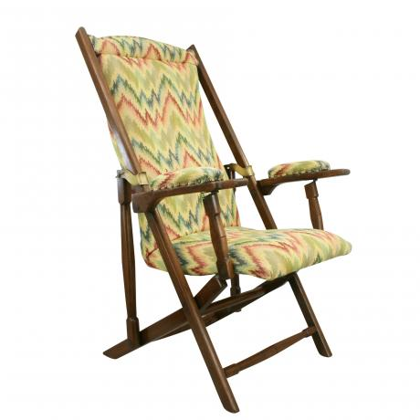 25856 Folding Campaign Armchair.