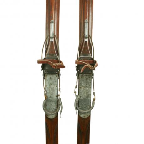 25881 Antique Ash Skis.