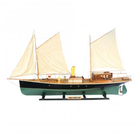 25911 Boat Builders Model of S.Y. Prince...
