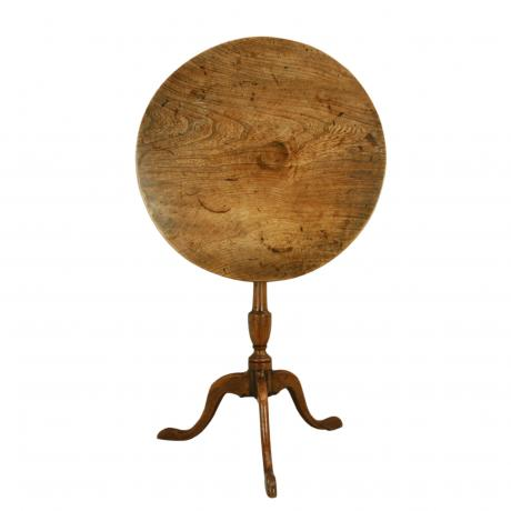 25917 Elm Tripod Table.