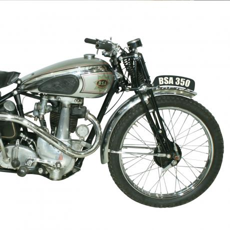 25998 BSA B25 1939 Competition Model Trials...