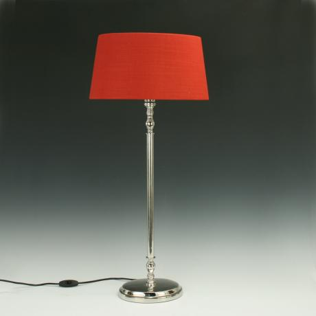 26117 Metal Oval Table Lamp.