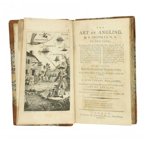 26123 Rare fishing book, The Art of Angling...