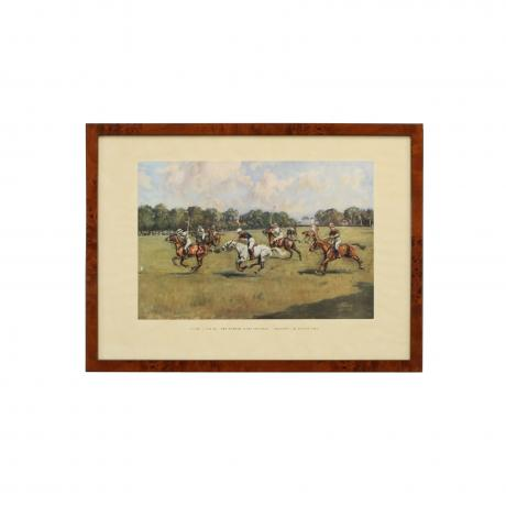 26172 Polo Print, Lionel Edwards, Durham...