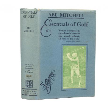 26195 Golf Book by Abe Mitchell.