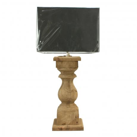 26196 Wooden Table Lamp.