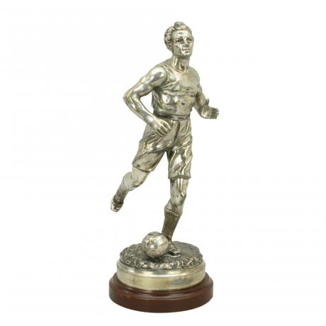 26245 Vintage Spelter Football Figure.