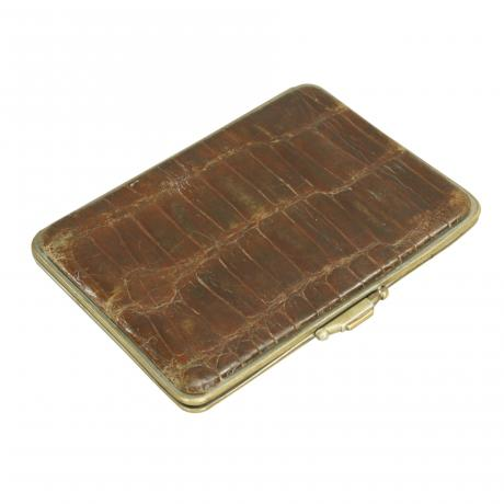 26256 Leather Crocodile Wallet.