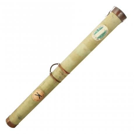 26371 Canvas Covered Salmon Rod Tube.