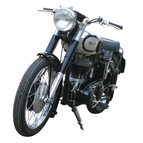 26362 Norton ES2 Motorcycle.