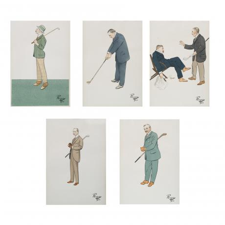20679 Antique Golf Pictures.