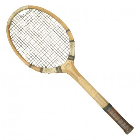 19503 A rare Split Bamboo Tennis Racket by...