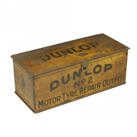 26442 Vintage Dunlop Tyre Repair Kit Tin.